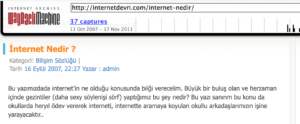 internet nedir ?